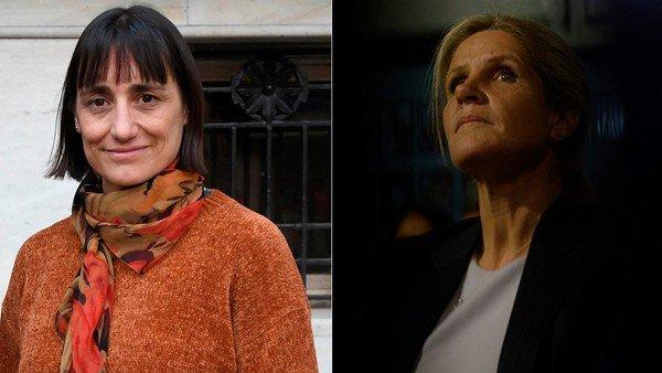 Las otras candidatas a vicepresidenta: Romina del Plá y Cynthia Hotton