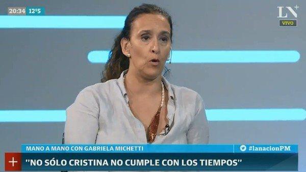 """Gabriela Michetti dijo que el rol del vicepresidente es """"administrativo"""" y calificó su gestión con un 10"""