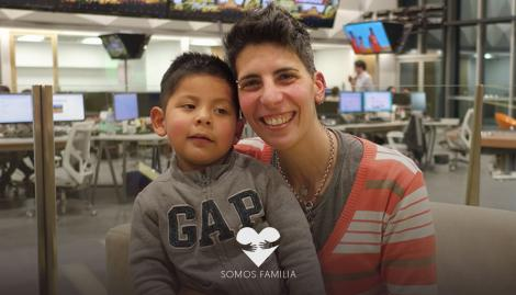 Atendió a un bebé abandonado en la terapia intensiva del Hospital Santojanni y dos años después logró adoptarlo