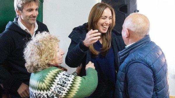 María Eugenia Vidal respaldó a Segundo Cernadas en Tigre