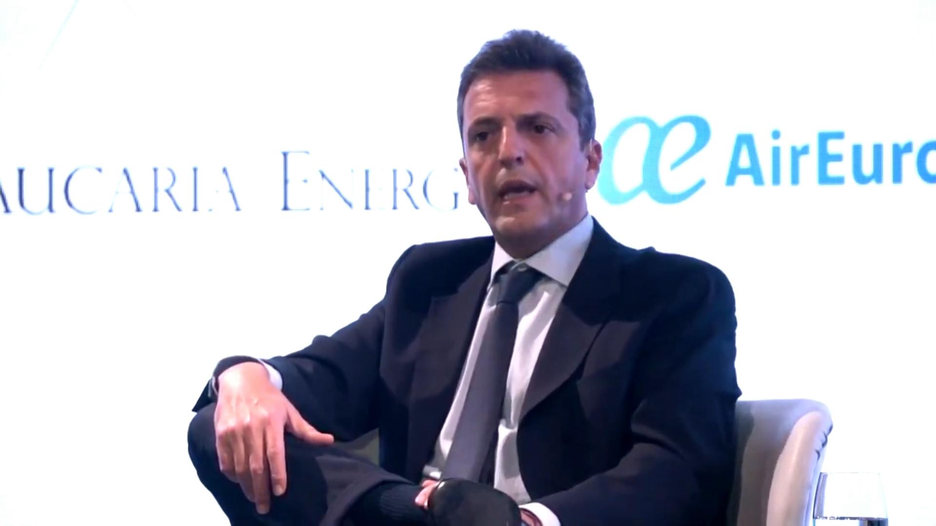 Massa irá a la presentación del libro de Cristina Kirchner en Malvinas Argentinas