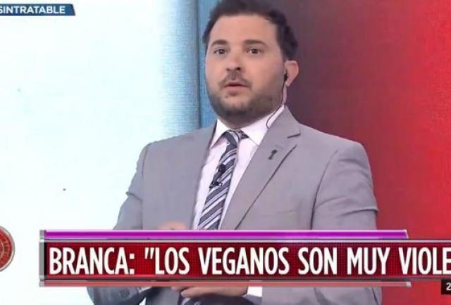 """Diego Brancatelli volvió a cargar contra los veganos: """"Me han deseado la muerte y el sufrimiento"""""""
