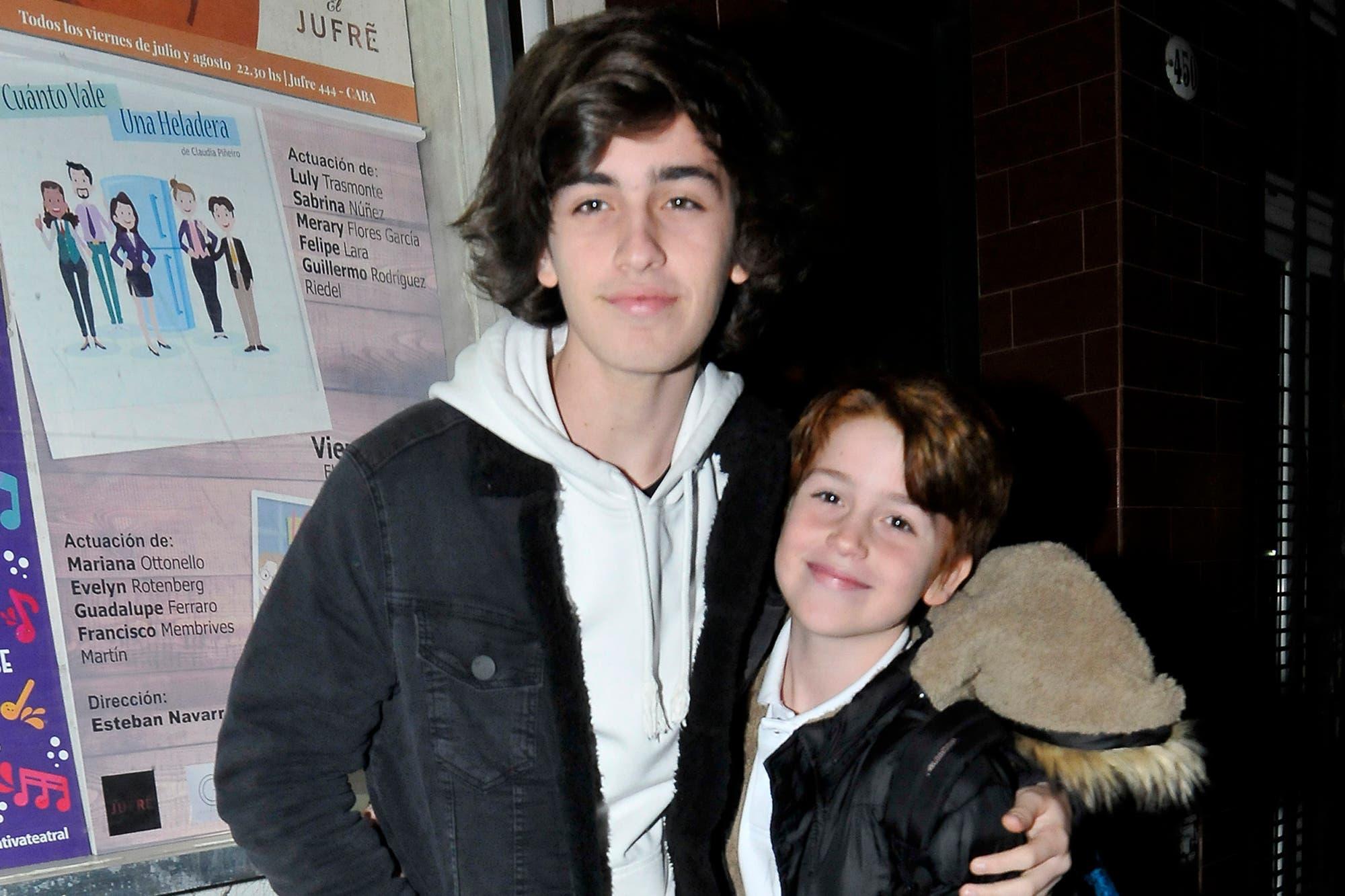 Juan Otero, el hijo de Florencia Peña, debutó en teatro