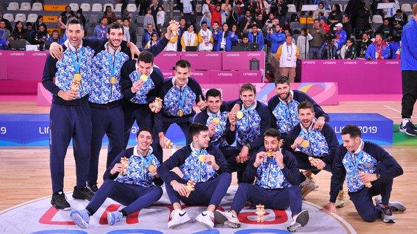 Juegos Panamericanos: Argentina conquistó el oro en básquet después de 24 años