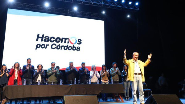 Juan Schiaretti les pidió a los cordobeses que apoyen la boleta corta
