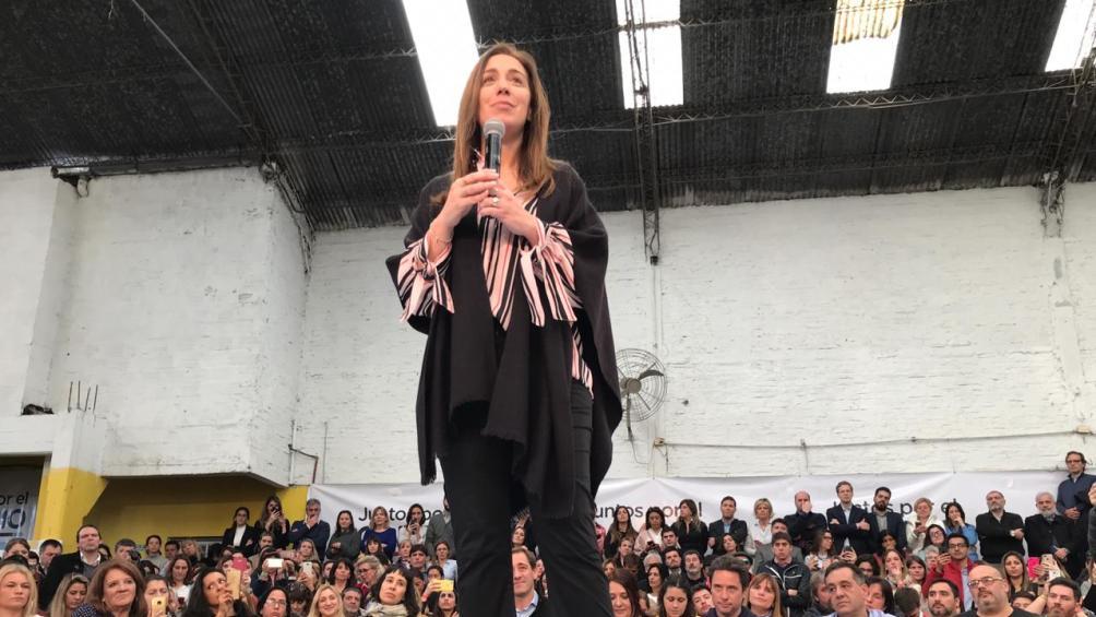 Vidal realiza un acto en Quilmes con adultos mayores