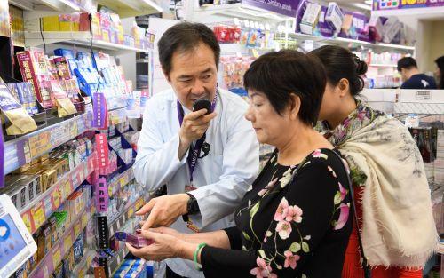 Los millones de turistas impulsan el auge del traductor de bolsillo en Japón