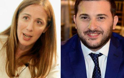 """Vidal volvió a cruzar a Brancatelli en campaña: """"Vidal no es Macri, Vidal es Vidal"""""""
