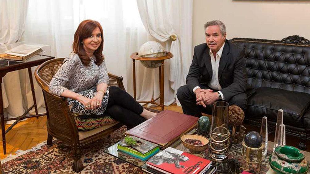 """""""Queremos que Macri siga hasta el 10 de diciembre y  gobierne"""", dijo Felipe Solá"""