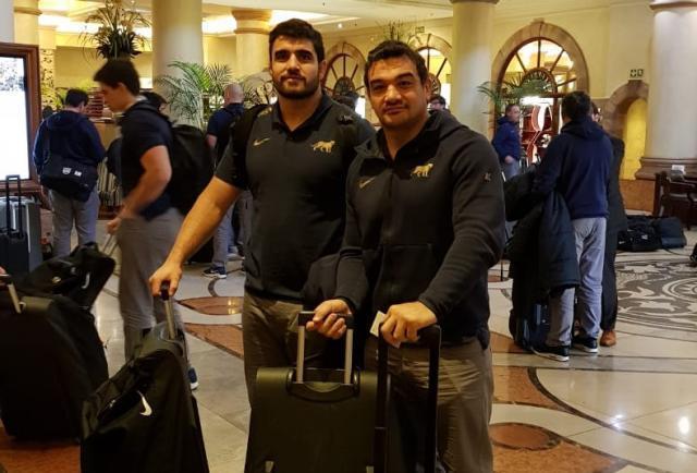 Con el mendocino Bertranou, Los Pumas ya están en Pretoria