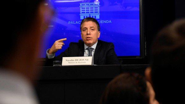 Nicolás Dujovne cancela la colocación de Letes que vencen con el próximo Gobierno