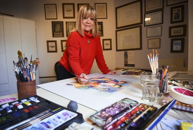 "Isabel Civit: ""El arte es mi balsamo"""