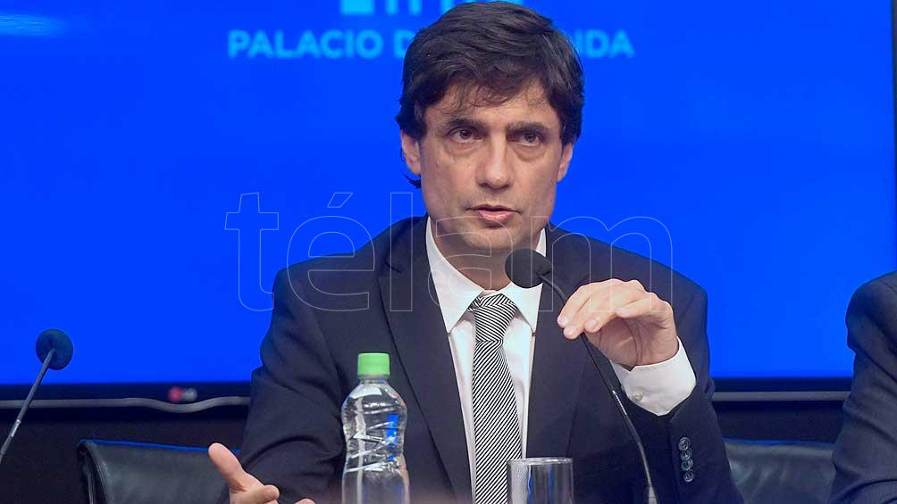 Lacunza dice que el dólar está sobrevaluado y prevé una inflación similar a 2018