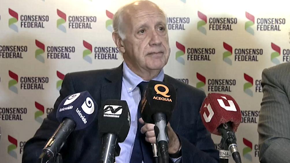 Lavagna consideró que la Argentina necesita un gobierno de unidad nacional para salir adelante