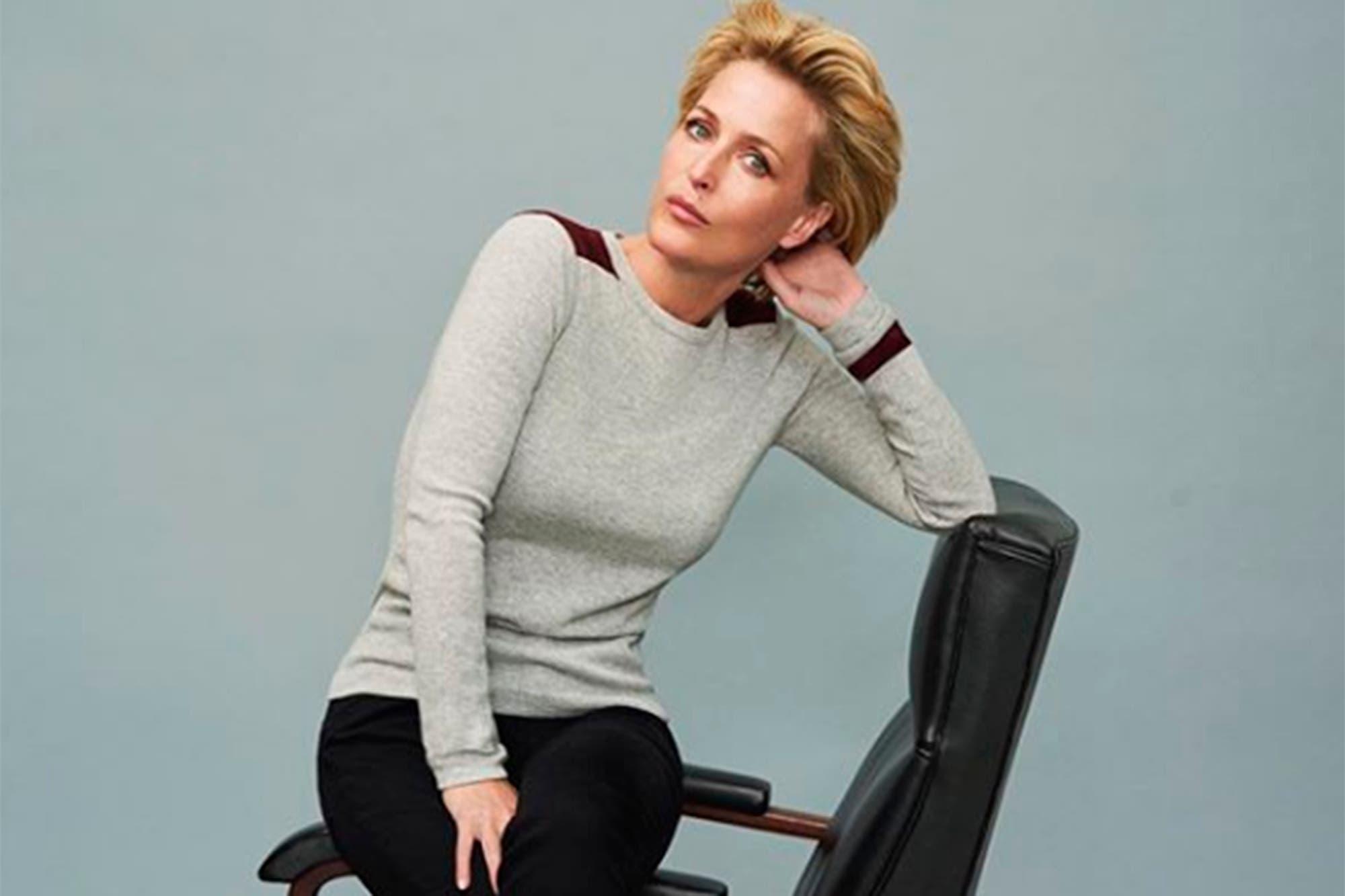 The Crown: Netflix anunció qué Gillian Anderson interpretará a Margaret Thatcher en la cuarta temporada