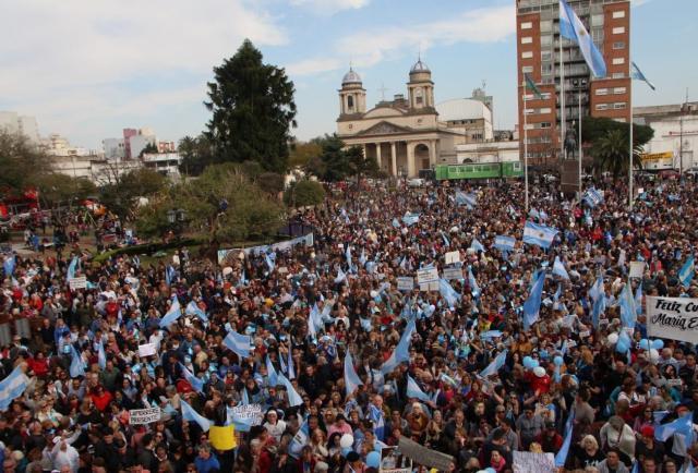 """Macri destacó la movilización en apoyo a Vidal: """"Se merece eso y mucho más"""", dijo"""