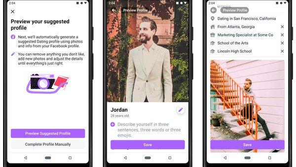 """Actualizan Facebook Dating, la competencia de Tinder para """"relaciones reales a largo plazo"""""""