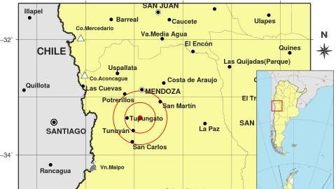 En las últimas horas hubo 30 sismos en Mendoza y San Juan
