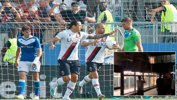 El gesto de los jugadores de Bologna que conmovió al mundo