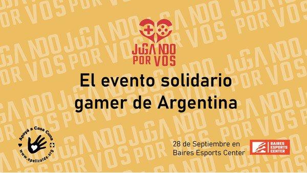 Los gamers e influencers más importantes de la Argentina se unen por una causa solidaria
