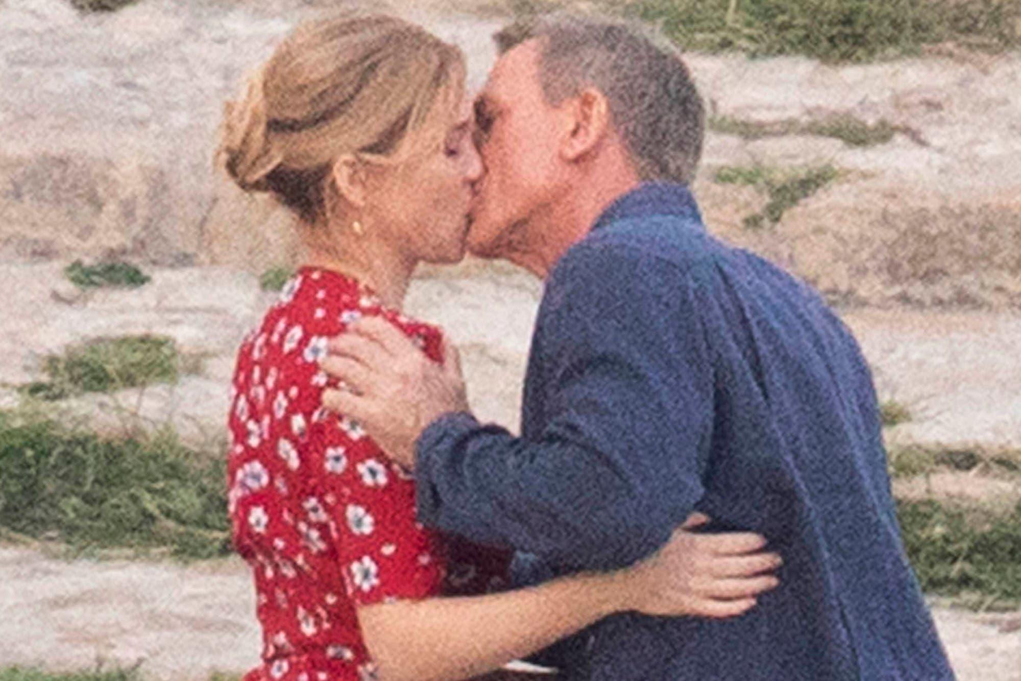 No Time to Die: las románticas fotos de Daniel Craig en la nueva James Bond