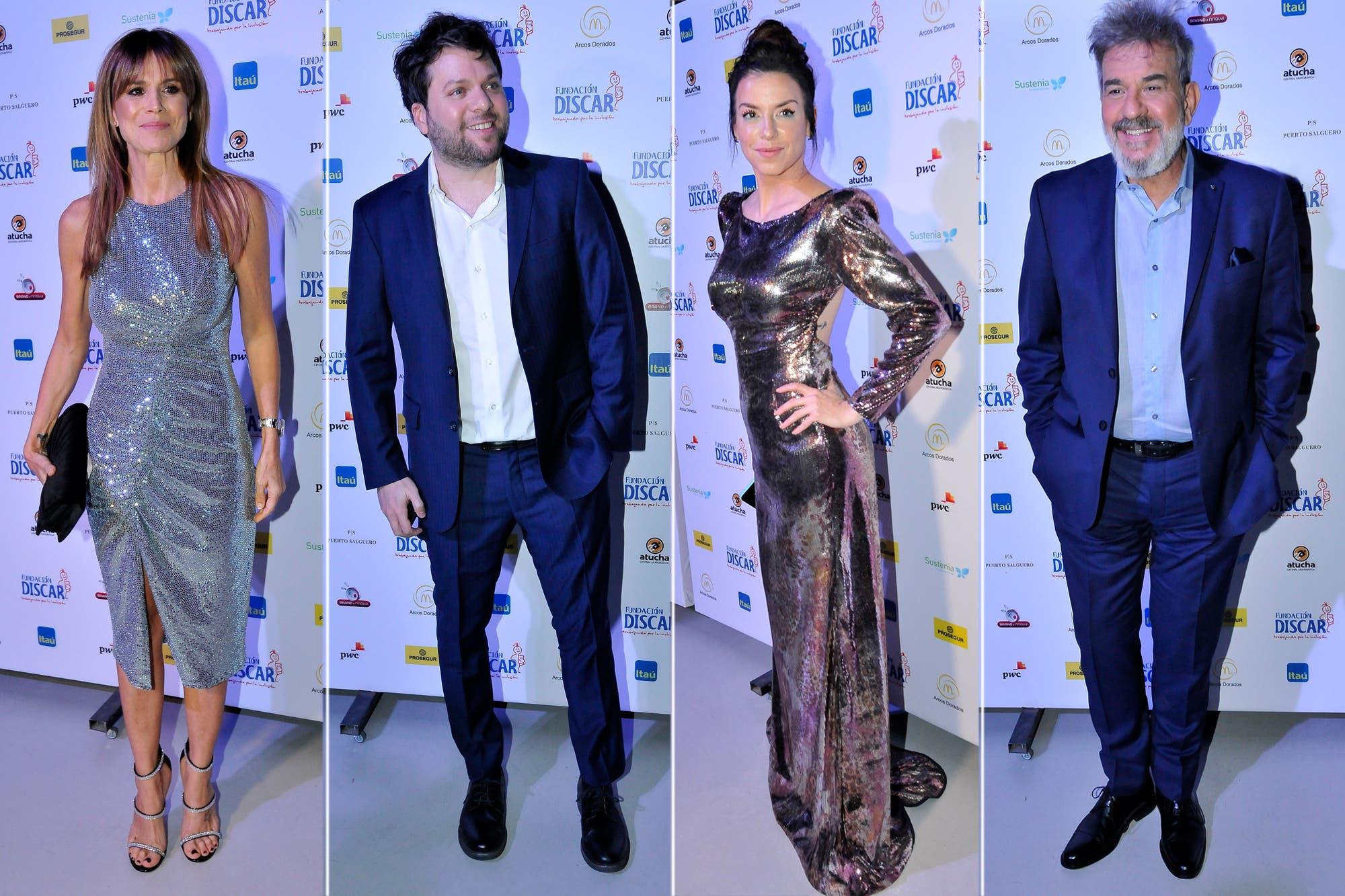 Gala Discar: del look de Flavia Palmiero a los besos de Mercedes Funes y Cecilio Flemati