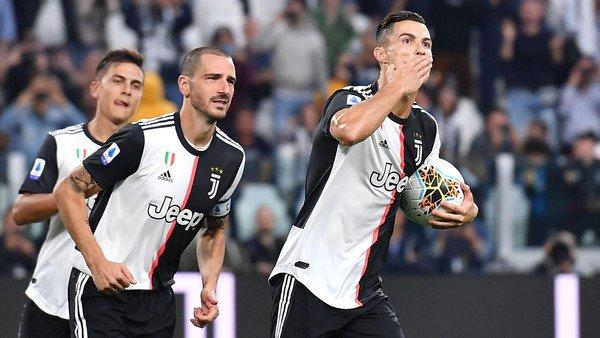 Cristiano Ronaldo se lo dio vuelta al Hellas Verona y Juventus volvió a ganar