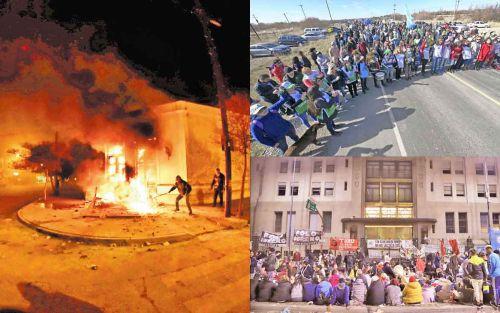 """La crisis amenaza con replicar el """"efecto Chubut"""" en otras provincias"""