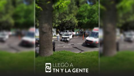 Un nene y un hombre resultaron heridos en un choque múltiple en la General Paz