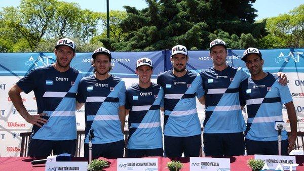 """Argentina ya piensa en la Copa Davis y Gaudio no duda: """"Llevamos al mejor equipo"""""""
