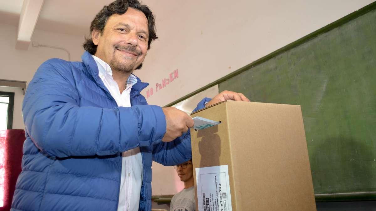 Gustavo Sáenz fue elegido por los salteños como el sucesor de Juan Manuel Urtubey