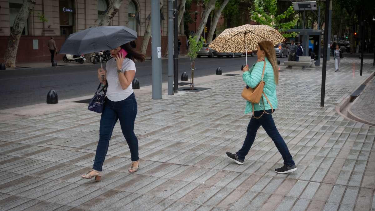 Caluroso y con lluvia: así es el pronóstico para el lunes en Mendoza