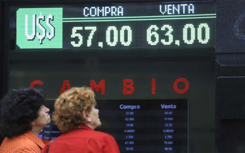 El dólar se mantiene sin cambios y el riesgo país vuelve a subir