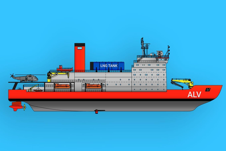 Premio internacional para la UTN por el diseño de un buque polar