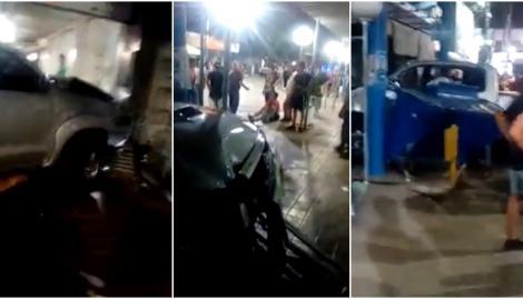 San Juan: corría picadas, perdió el control y atropelló a cuatro personas