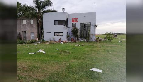 Un piloto murió al caer con su avioneta en un aeródromo de General Rodríguez