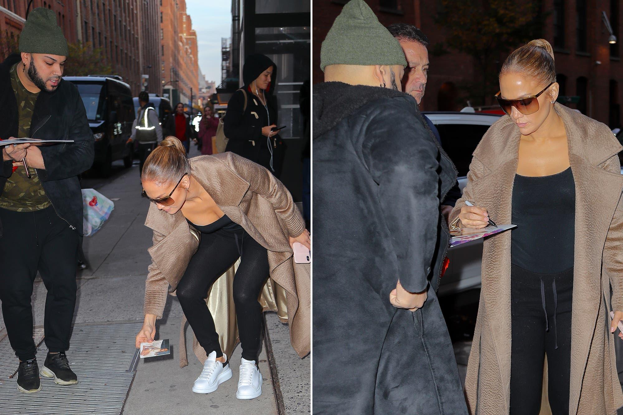 Famosos urbanos: del paseo en monopatín de Antonio Banderas al gesto de Jennifer Lopez con un fan
