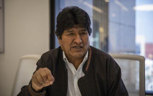 Para Evo Morales, una senadora de su partido es la presidenta legítima de Bolivia