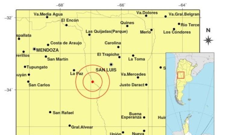 Un fuerte temblor de 6.3 grados sacudió Mendoza y se sintió en todo el país