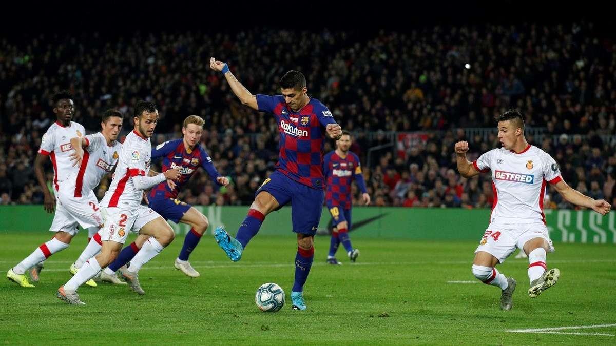 ¡No existen adjetivos para calificar el golazo de Luis Suárez ante el Mallorca!