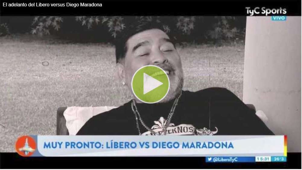 """Maradona: """"Que nadie se ponga en una medalla por sacarme de la droga, a mi me sacó Dalma"""""""