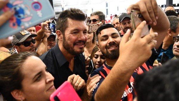 Marcelo Tinelli arrasó en las elecciones y es el nuevo presidente de San Lorenzo