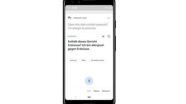 Cómo funciona el modo intérprete de Google que traduce en tiempo real