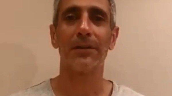 """El mensaje de Roberto Baratta tras salir de prisión: pidió """"seguir peleando"""" para seguir con las excarcelaciones"""
