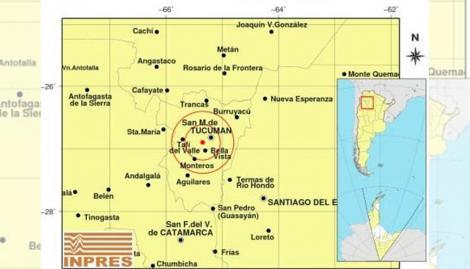 Un sismo de 4,7 grados sacudió a San Miguel de Tucumán y se sintió en varios lugares de la provincia