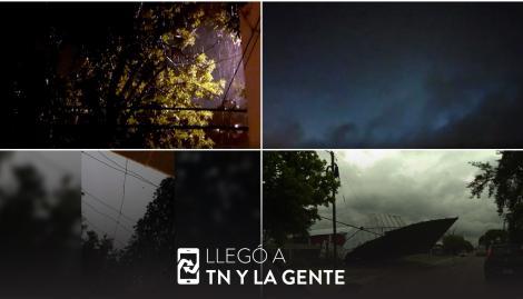 Temporal en el Litoral: los videos de las tormentas, inundaciones y destrozos