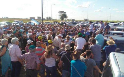 """Retenciones: CRA declara el estado de """"alerta y movilización"""""""