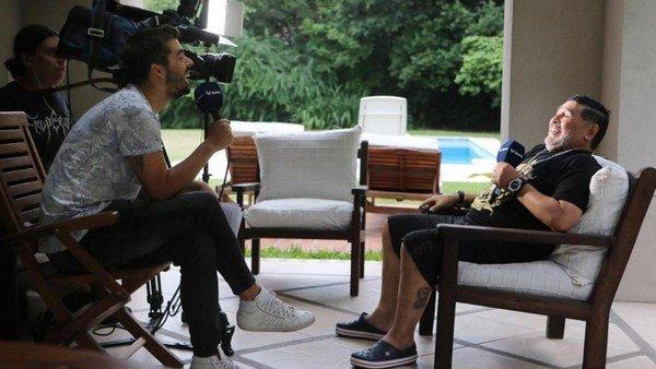 Líbero vs Maradona: Diego habló de fútbol, amores, odios y sus hábitos sexuales