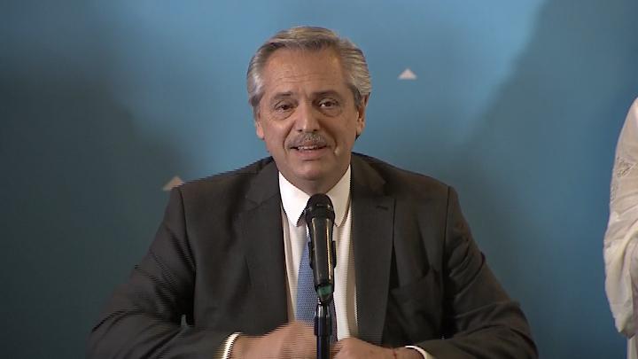 """Alberto Fernández: """"Viene un tiempo para todos"""""""