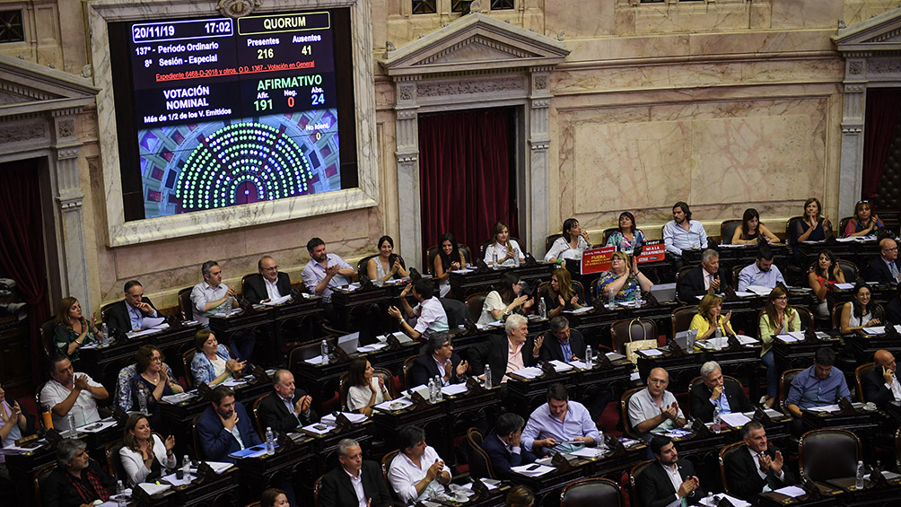 La oposición propone hacer dos sesiones separadas para permitir la jura de diputados del Frente de Todos